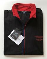 New Mens Hackett London Cotton Zippers Long Sleeve Black Size XL RRR £145.00