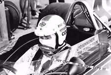 9x6 fotografia Leo Kinnunen Aww RACING SURTEES Ritratto TS16 1974