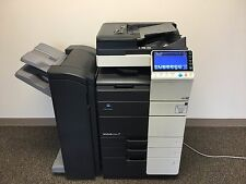 Konica Minolta Bizhub C554 Color Copier Printer Scanner Fax 19k color pages