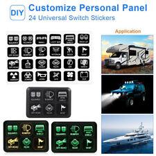 Wasserdicht 12V LED Boot Schalttafel Schalter Box Sicherung Relaiskasten Set 1x