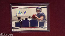 Ryan Nassib 2013 Topps Prime Level V Quad Jersey Auto Rookie Card 156/499