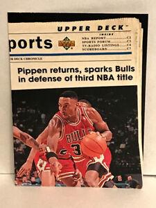 1994-95 Upper Deck Basketball - #202 - Scottie Pippen - Chicago Bulls