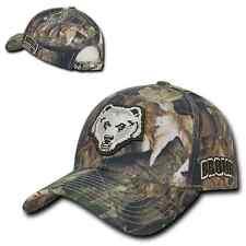Brown University Bears Camo Cotton Adjustable Structured Baseball Cap Hat