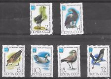 BIRDS OF RUSSIA SG 5235-40 M.N.H 1982;18 INTERNAT.ORNITHOLOGICAL CONGRESS,MOSCOW
