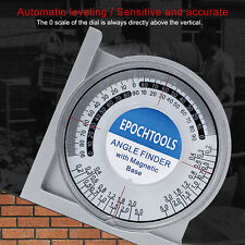 Magnetic Angle Locator Measuring Inclinometer Clinometer Gauge Gauging Tool