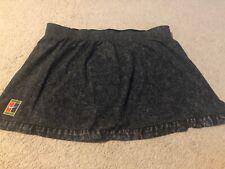 NWT Nike Women's Tennis Skirt Size Large Black Gray