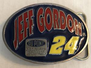 Vtg 1995 Nascar 24 Jeff Gordon Special Edition 4929 Belt Buckle Enamel USA MINT