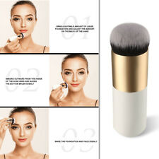 Chubby Pier Foundation Brush Flat Cream Makeup Brushes Professional Cosmetic NEW
