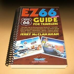 ROUTE EZ 66 GUIDE for TRAVELERS NEW 4th Edition Map Book