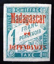 MADAGASCAR 1897 Postage Due SGD23 Mounted Mint SALE NC714