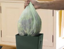 20 Biodegradeable Liners for Garland 9-Litre Compost Caddy Food Waste Bin