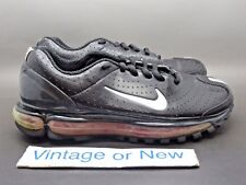 Women's VTG Nike Air Max Black Silver Red 2003 sz 6.5