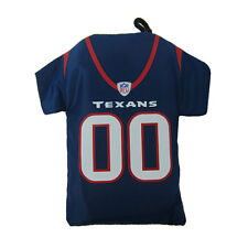 New NFL Houston Texans Jersey Style Reusable Shopping Grocery Bag Tote Carrier
