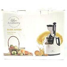 Kitchen Academy Slow Juicer, Large Feed Chute Masticating Juicer Machine