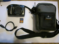 Canon PowerShot SX110 IS 9.0MP 10X Zoom Digital Camera 2GB Memory Card Case MINT