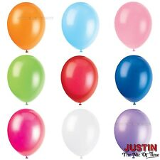 "HELIUM LATEX BALLOONS 12"" Decorations Birthday Wedding Christening Party"