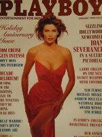 Playboy January 1990 | Joan Severance Peggy McIntaggart Angela Cavagna 1277+
