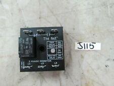 ABB 3 Phase Monitor P/N: TVM240A45S10S SSAC Trip: 5 Sec 240V (New)