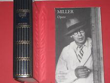 Miller Opere I Meridiani Mondadori 1992