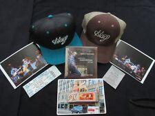 """""""2"""" Merle Haggard Caps. Men'S Osfa & Ladies Sz. 6. + Marty Haggard Auto Cd. +"""