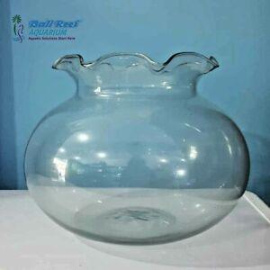 Vichpro Portabel Bowl Glasses Aquarium Betta Fish Tank Home Decoration