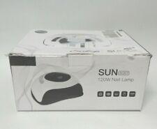 Sunrich UV Gel Nail Lamp 120W LED Nail Light Fast Nail Dryer for Gel Polish