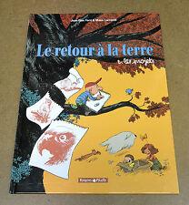 LARCENET - LE RETOUR A LA TERRE - 2 - LES PROJETS - EO 2003 ( TBE )