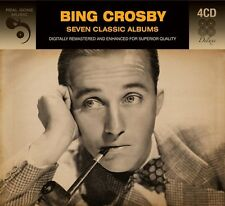 Bing Crosby SEVEN (7) CLASSIC ALBUMS With A Beat AND SATCHMO El Senor NEW 4 CD