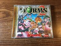Pc Game Worms 2 (PC, 1998) Windows 95 Complete