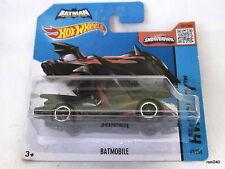 Hotwheels BATMOBILE 63/250 HW City 2015 made in Malaysia