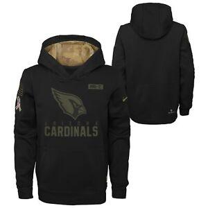 Nike NFL Youth (8-20) Arizona Cardinals Salute to Service Therma Hoodie