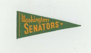 "1930's Red Ball Gum Washington Senators 5.5"" Mini Pennant Baseball B9375"