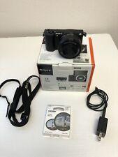 Sony Alpha A5100 24.3MP Camera - Black with 16-50mm Zoom Lens, Polarizer