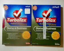 FEDERAL RETURN ONLY  *Retail*  2010 & 2011 TURBOTAX HOME & BUSINESS CD