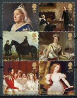 GB 2019 MNH Queen Victoria Albert 200th Birthday 6v Set in Pairs Royalty Stamps