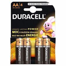 AA Duracell Alkaline 1.5v Battery MN1500 / LR6 - Pack of 4 Batteries