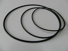 Rund Riemen Set passend für Grundig Tonband TK 149  Rubber drive belt
