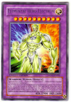 YUGIOH • Elemental Hero Electrum MDP2-EN001 CARTA RARA PROMO RARITY NM