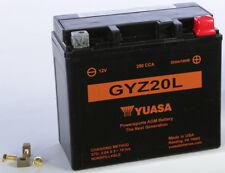 YUASA BATTERY #GYZ20L HA HON GL1800 '01-12 YUAM720GZ MC Honda