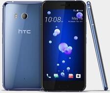 HTC U 11 - 64GB - Amazing Silver (Unlocked) Smartphone *Very Good Phone & Accy*