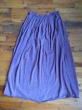 Shack Inc J. Morgan Puett 100% Cotton Lavender Purple Gauzy Skirt One Sz EUC