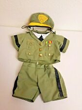 Build A Bear USA Army Officer Soldier Outfit Clothes
