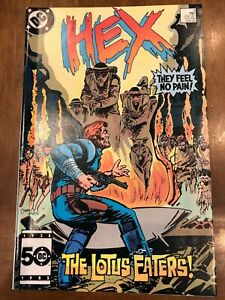 DC Comics Hex Issues #3-6 (1985) Jonah Hex Returns 2nd Series Excellent Copies