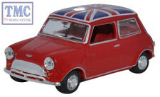 43MIN023 Oxford Diecast 1:43 Scale O Gauge Tartan Red/Union Jack Austin Mini