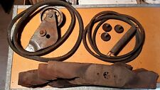 "White GT-185 46"" Mower Deck Teardown Salvage Parts MTD 742 0542 0543 Used Blades"