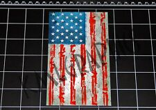The Purge movie style USA / American weapons flag decal sticker anarchy gun