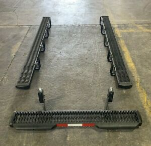 "NEW RAM Promaster Complete 98"" Running Boards / Rear Step Kit - 2014-PRESENT"