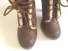 American Eagle womens brown serpa winter fall Sexy Boots size 7.5