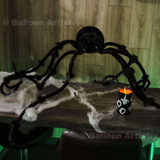 72in 182cm Halloween Jumbo Giant Posable Furry Spider Monster Prop Decoration