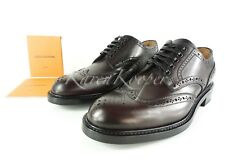 6eb699e1d6ed NEW AUTH LOUIS VUITTON VOLTAIRE MEN LEATHER DRESS SHOES DERBY 8.5 LV   9.5US